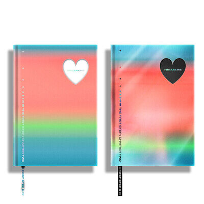 TREASURE - THE FIRST STEP : CHAPTER TWO 2nd Single KPOP Album CD+Booklet+Sticker