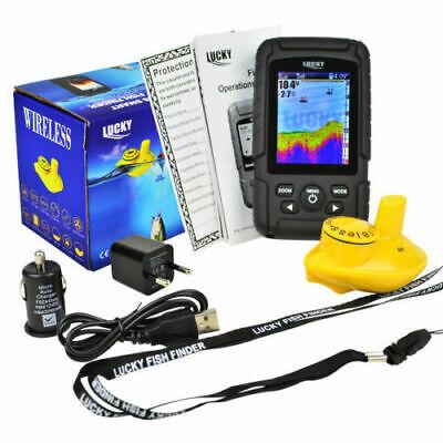 Colour Wireless Fish Finder - 100 Metre Range, Depth, Features, Carp, boat, rod