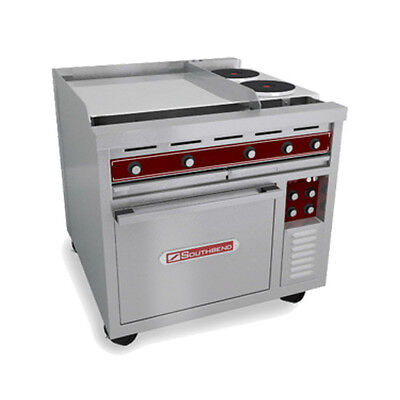 "Southbend SE36A-TTH 36"" Heavy Duty Electric Range W/ Hot Top & Griddle"
