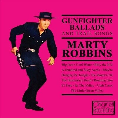 Marty Robbins - Gunfighter Ballads & Trail Songs [New CD]