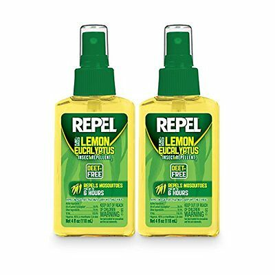 Repel, Plant Based Lemon Eucalyptus Insect Repellent - 4 fl