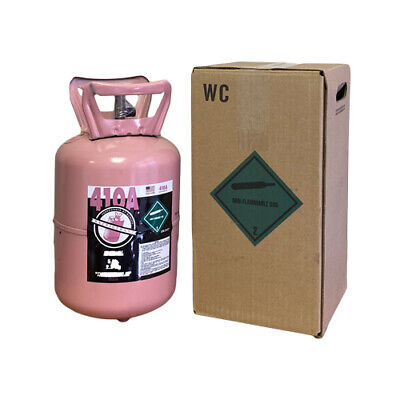 R410a Refrigerant 10 Lbs. Factory Sealed Virgin Free Same Day Shipping By 3pm
