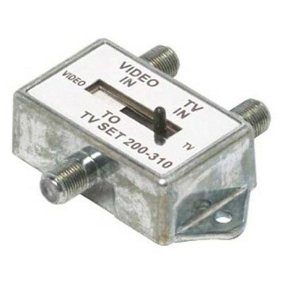 Eagle A/B Switch Coaxial 2 Input Slide Switch 75 Ohm UHF VHF FM Coax - 75 Ohm A/b Switch