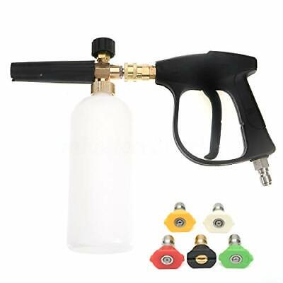 ZHITING Snow Foam Lance, Car High Pressure Cleaning Tool Pressure Washer Fit