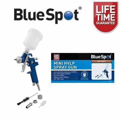BlueSpot Mini HVLP Spray Gun 125ml 0.8mm Nozzle 07909 for sale  Ivybridge