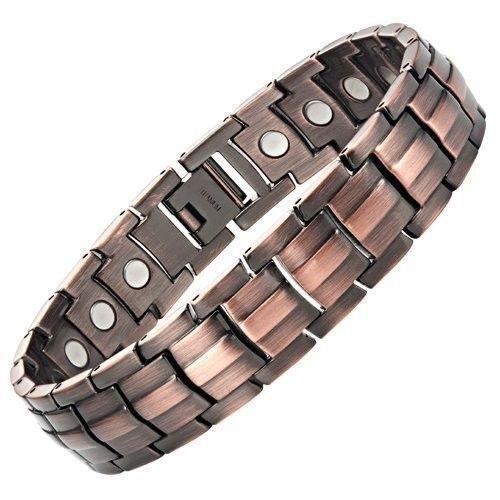 Mens Copper Magnetic Bracelet | eBay