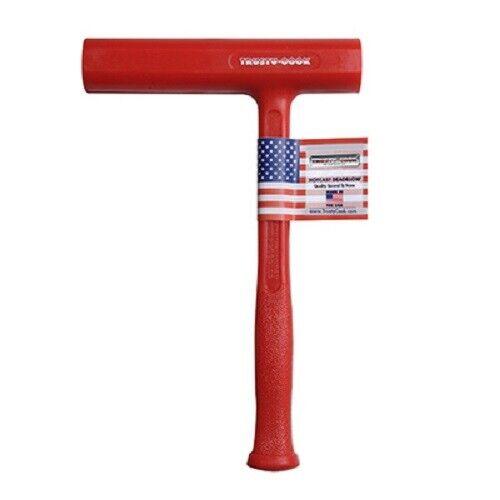 Trusty Cook Model S4 32 oz Slimline Dead Blow Hammer - USA