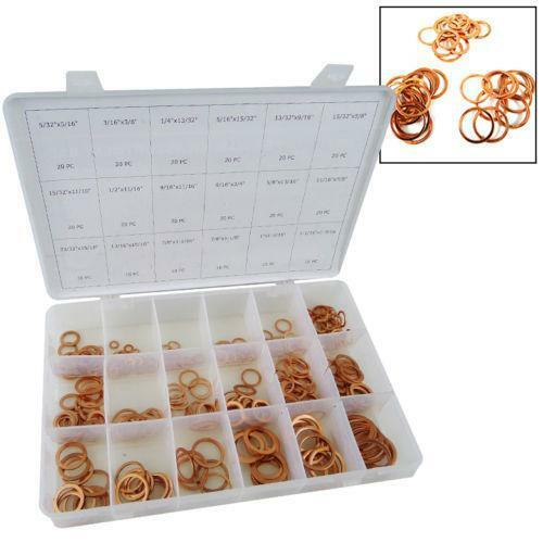 Search Results For Assortment: Copper Washer Assortment