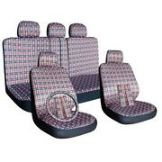 Plaid Seat Covers