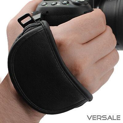Nikon Led (Handschlaufe für Nikon Kamera DSLR Spiegelreflexkamera Leder Trageschlaufe)