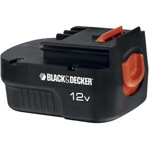 Pæn Black and Decker 12V Battery | eBay EV63