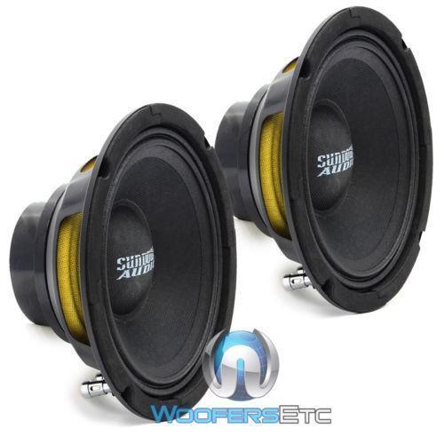 2 Neo Pro 8 Sundown Audio 8 4 Ohms Car Audio Midbass: Sundown Audio Neo Pro