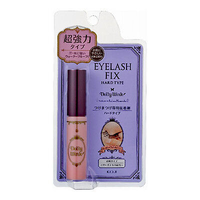KOJI☆Japan-Dolly Wink False Eyelash Fix Glue Adhesive Hard type Clear ,JAIP