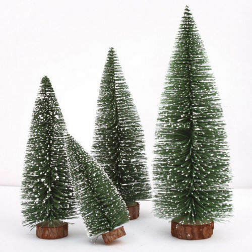 K nstlich mini weihnachtsbaum tannenbaum christbaum b ume ornament geschenk xmas ebay - Tannenbaum dekoration ...