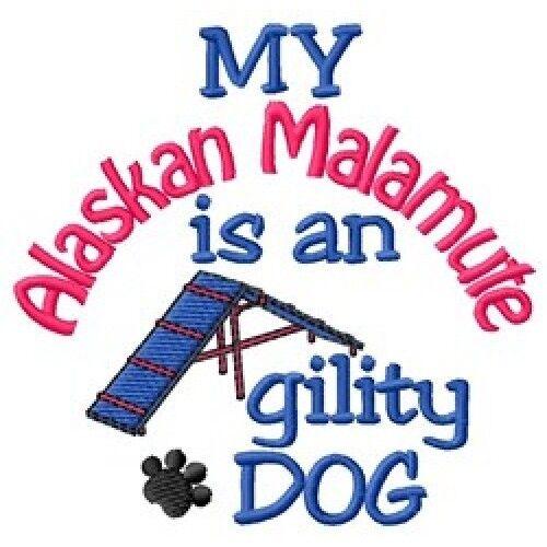 My Alaskan Malamute is An Agility Dog Fleece Jacket - DC2084L Size S - XXL