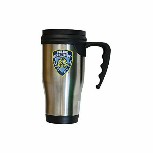 NYPD Travel Mug Officially Licensed New York Police Coffee Cup Stainless...