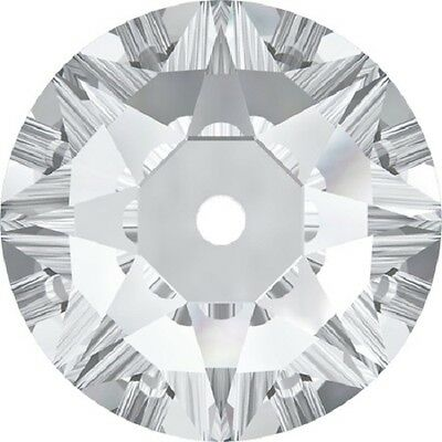 Swarovski XIRIUS Loch Rose Unfoiled mm 5 Crystal - 144PZ