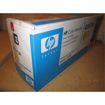 HP Q2672a Laser Toner Cartridge Yellow 3500