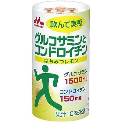 Morinaga Glucosamine and Chondroitin, Healthy Drink, 125ml x 18 packs in 1 box
