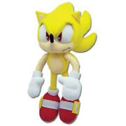 Super Sonic The Hedgehog Plush