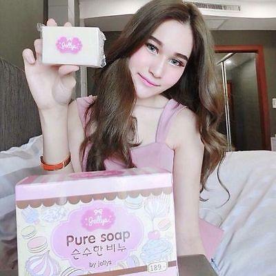 Best Of  Soap Whitening Skin Aging Gluta Anti Body Lightening Jellys White (Best Body Lightening Soap)