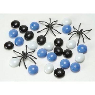 Halloween Glass Gems and Spiders 2 Pounds Parties Centerpiece Wedding Decor B123 - Halloween Centerpieces Wedding