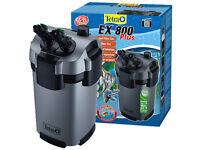 Tetra Aquarium External Fish Tank Filters EX800 plus