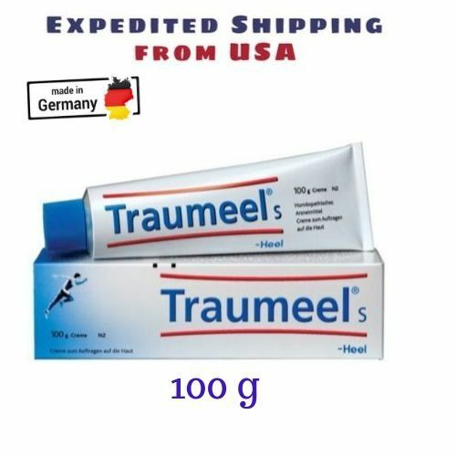 Traumeel S Homeopathic Ointment (100g) Pain Relief  Cream- Free ship from US