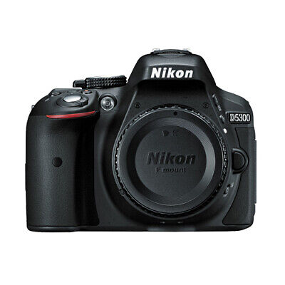 Nikon D5300 24.2 MP CMOS Digital SLR Camera w/ Built-in Wi-Fi and GPS Core Black