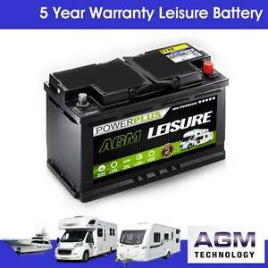 AGM LP100 100ah (110) Sealed Boat Starter & Leisure Deep Cycle Battery 12v