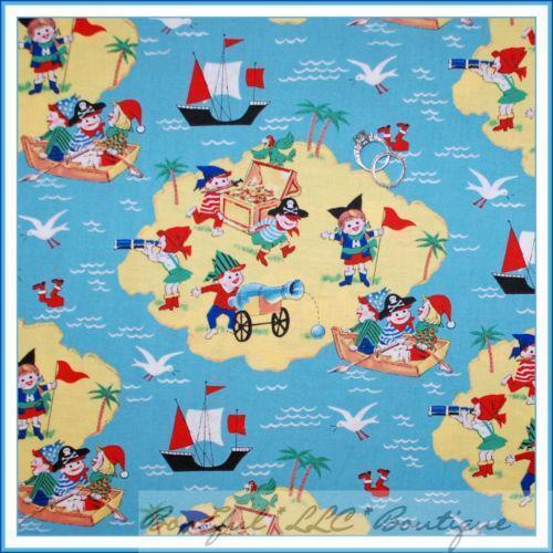 Kids Pirate Fabric Ebay