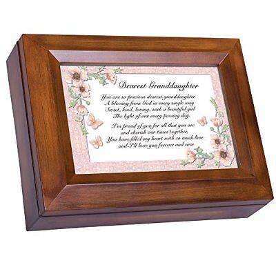 "Dearest Granddaughter Love Forever Digital Music Box ""Pachelbel's Canon D"""