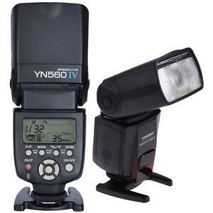 YONGNUO YN560IV / YN560TX Flash Speedlite Canon Nikon Fuji DSLR