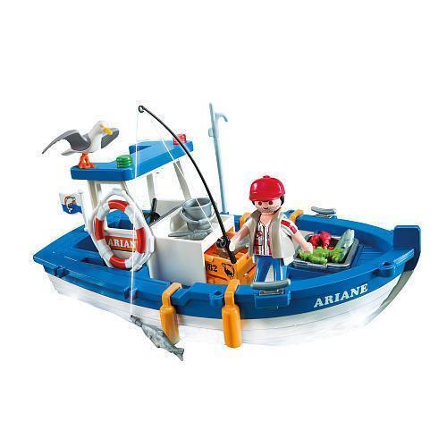 Shark Toys For Boys With Boats : Playmobil boat ebay