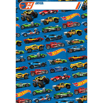 HOT WHEELS Wild Racer FAVOR BAGS (8) ~ Birthday Party Supplies Treat Loot - Hot Wheels Party
