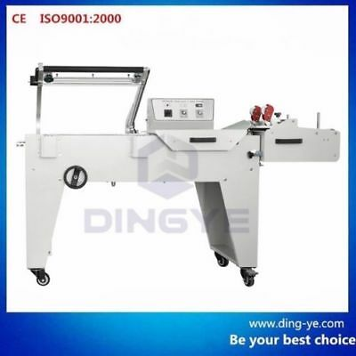 Combo Dfqa450 Full L-bar Sealer And Shrink Tunnel Machine Bs-a450 220v