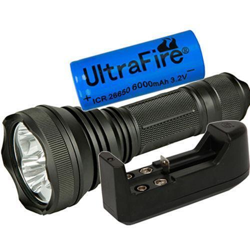 4000 lumen led flashlight ebay. Black Bedroom Furniture Sets. Home Design Ideas