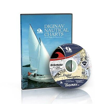 Noaa Nautical Charts Gps Marine Navigation Software Dvd  Top Seller