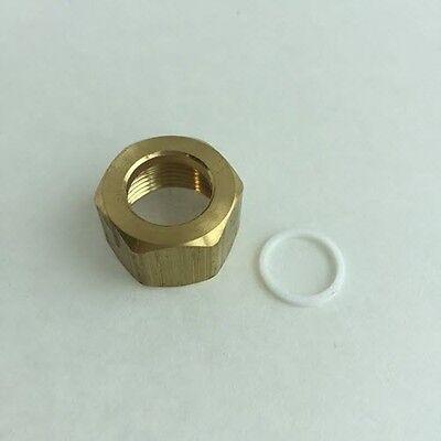 Goodman Amana B1796632 Nut Teflon Seal For Coil Inlet Elbow - Oem