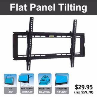BEST VALUE TV Wall Mount Brackets (4 sizes) Bibra Lake Cockburn Area Preview