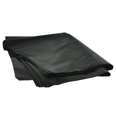 Heavy Grade 500 Gauge Polythene Rubble Sacks/Bags (100)