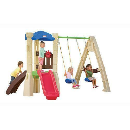 Little Tikes Swing Set Ebay