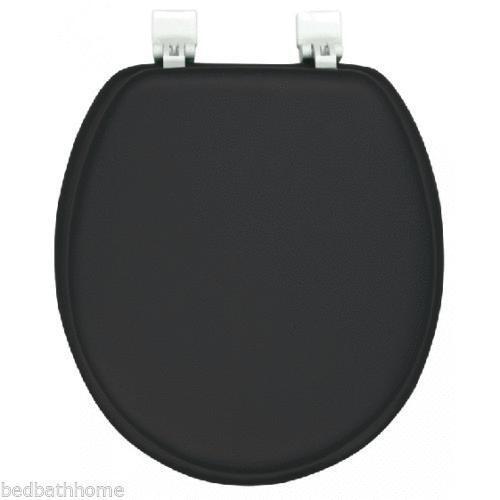 Black Padded Toilet Seat Ebay