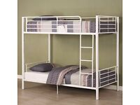 ❤ VERY STRONG & STURDY FRAME ❤ BRAND NEW 3FT SINGLE METAL BUNK BED❤SAME DAY QUICK DELIVERY❤MATTRESS❤