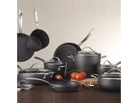 Kirkland Signature 15 Piece Hard Anodised Cookware Set RRp £235