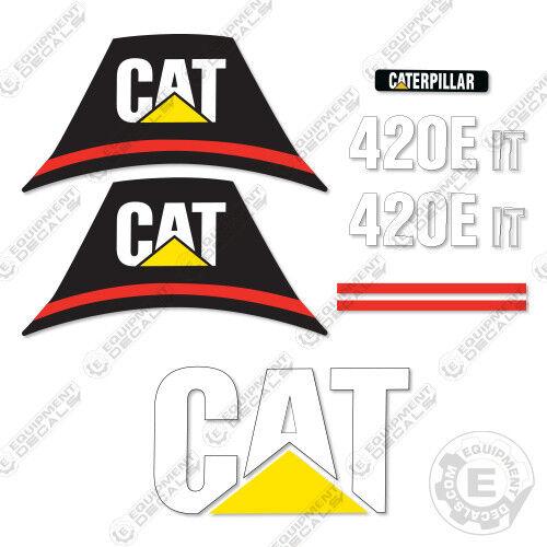 Caterpillar 420 E IT Backhoe Equipment Decals Older Style