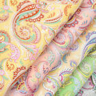 Paisley Quilting Craft Fabric Fat Quarters, Bundles Craft Fabrics