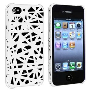 New Designer Bird Nest Cage Mesh Pattern Matt Hard Cover Case for iPhone 4 4G 4S