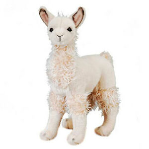 Fiesta-Plush-LLAMA-Standing-12-5-inch-New-Stuffed-Animal-Toy