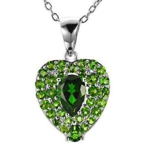 Chrome diopside ebay chrome diopside necklace aloadofball Image collections